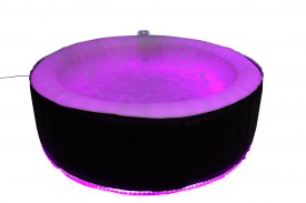 FULL SIZE 6 Seater Spa 2.1m LED Lights Party Aqua Spa