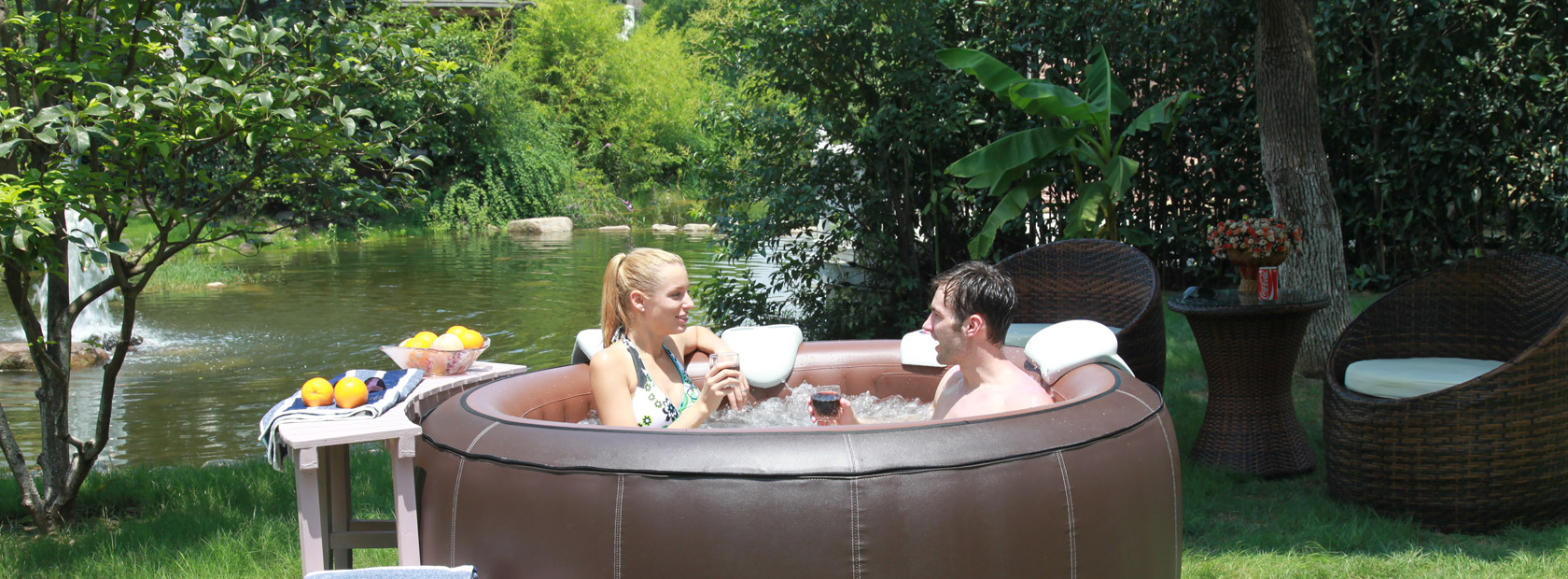 The Ultimate Inflatable Spa Aqua Spas
