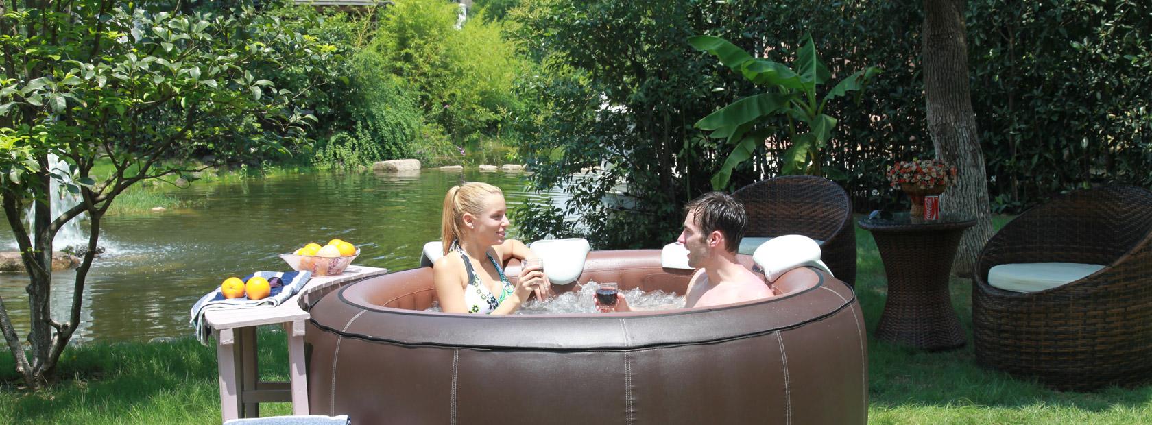 The Ultimate Inflatable Spa Aqua Spas