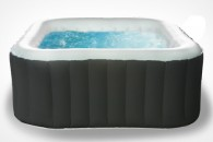 Square inflatable spa